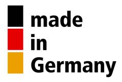 can filling made in germany: Logo germany